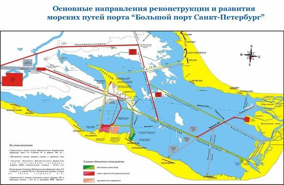 Причалы Большого порта Санкт-